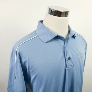Footjoy Mens Large Athletic Fit Golf Polo Shirt